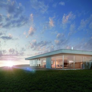 ARCHITEKTURVISUALISIERUNG - EXKLUSIVE, MODERNE VILLA AN TRAUMLAGE -