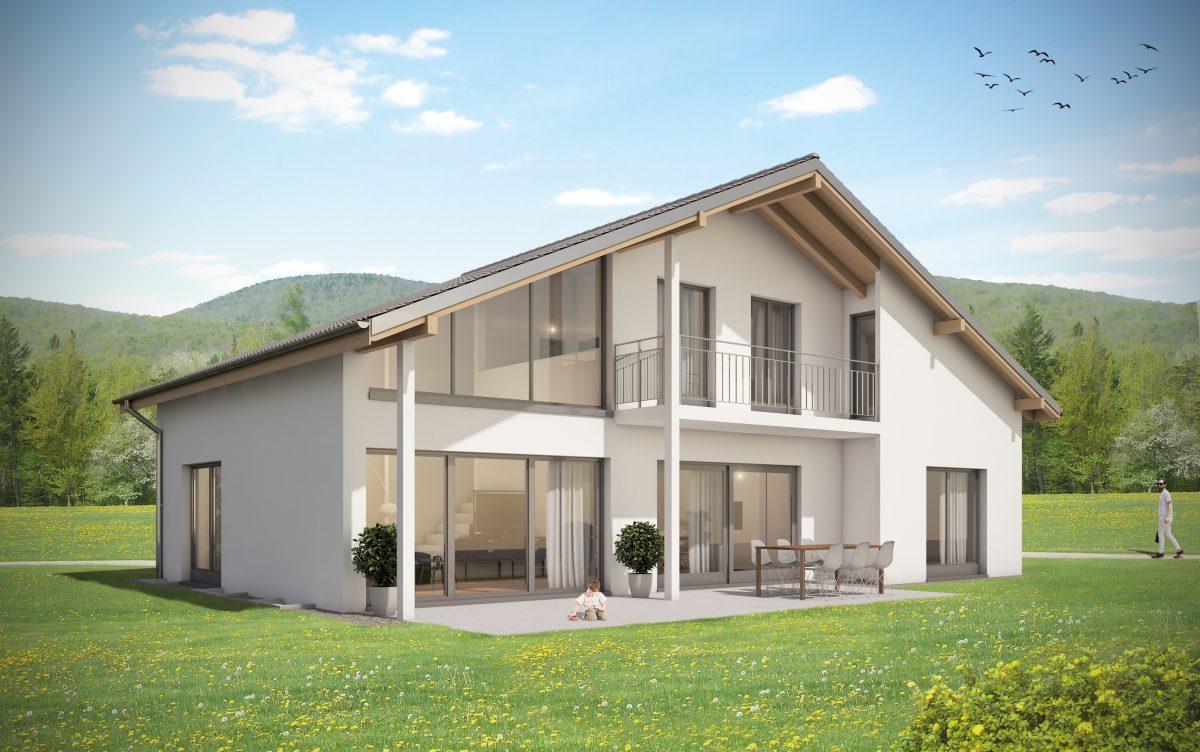 EINFAMILIENHAUS U201e211u201c U2013 Individuelle Architektur Modern Oder Klassisch Bei  Architekturbuero Schweiz.ch